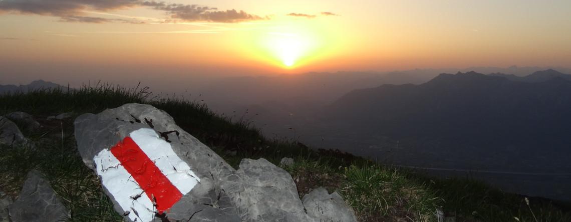 Sonnenaufgang auf dem Margelchopf