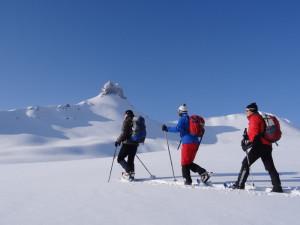 Schneeschuhtour Spitzmeilen Wissmilen