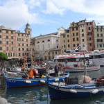 Camogli Hafen