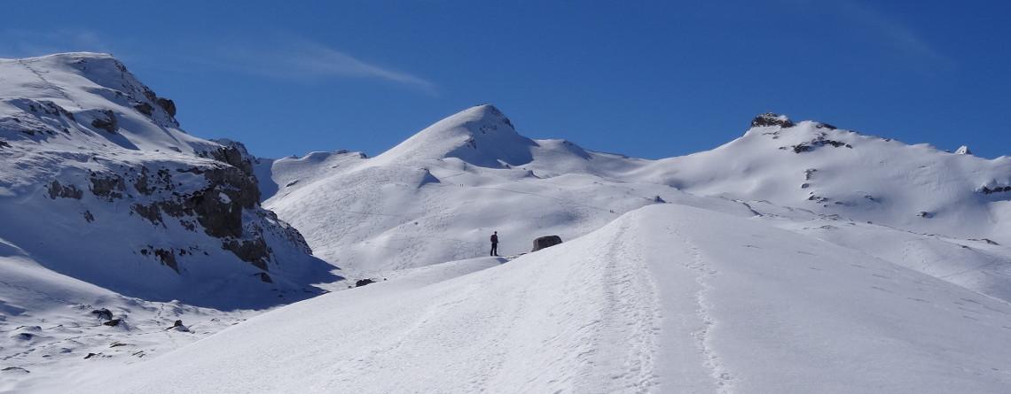 Schneeschuh-Wochenende Buchserberg